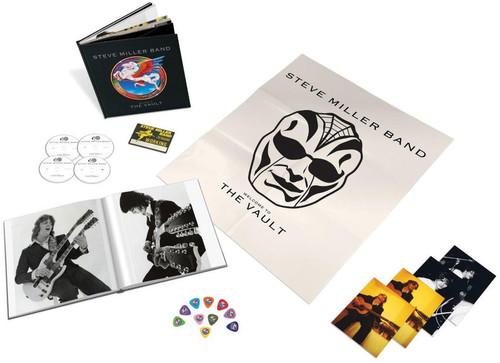 【輸入盤CD】 Steve Miller / Welcome To The Vault (w/DVD) (Box)【K2019/10/11発売】 (スティーヴ・ミラー)