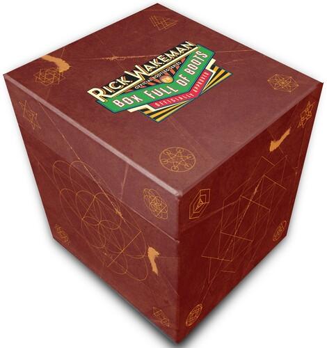 【輸入盤CD】Rick Wakeman / Box Full Of Boots (Box) (Limited Edition)【K2019/12/27発売】(リック・ウェイクマン)