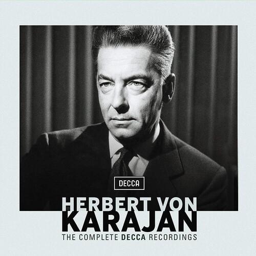 【輸入盤CD】【送料無料】Herbert Von Karajan / Complete Karajan Decca Recordings (Box)【K2020/4/3発売】(ヘルベルト・フォン・カラヤン)
