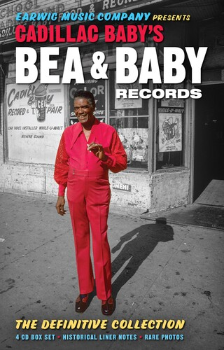 【輸入盤CD】VA / Cadillac Baby's Bea & Baby Records - Definitive Collection【K2019/7/19発売】