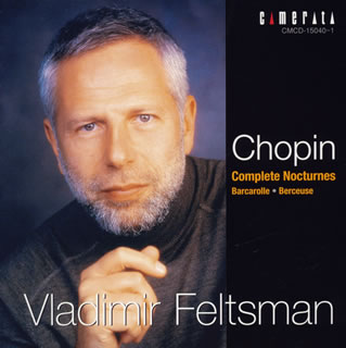 Chopin: Complete series of nocturne, sailor's song & lullaby feh Ruth man (P)[CD] [Class two pieces]