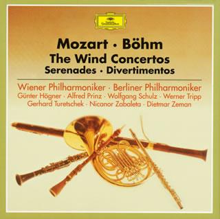 【送料無料】モーツァルト:管楽器のための協奏曲 / セレナード / ディヴェルティメント ベーム / VPO 他[CD][7枚組][初回出荷限定盤(限定盤)]