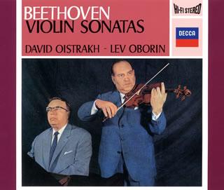 Beethoven:바이올린・소나타 전집(전10곡) 오이스트라후(VN) 오보린(P)[CD][3 매 셋트]