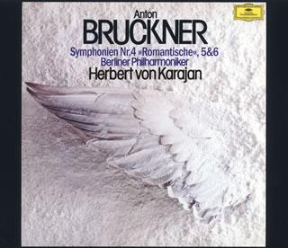 【送料無料】ブルックナー:交響曲第4番「ロマンティック」・第5番・第6番 カラヤン / BPO[CD][3枚組]【K2018/1/31発売】