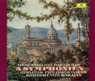 Mendelssohn:교향곡 전집 카라얀/ BPO외[CD][2 매 셋트][첫회 출하 한정반]