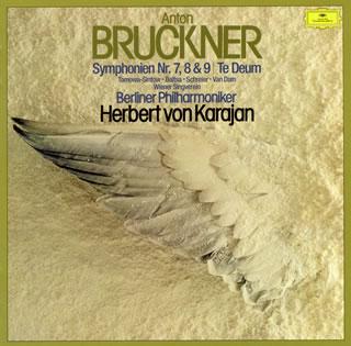 【送料無料】ブルックナー:交響曲第7番-第9番 / テ・デウム カラヤン / BPO 他[CD]【K2018/2/21発売】
