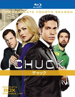 【送料無料】CHUCK チャック フォース・シーズン コンプリート・ボックス(ブルーレイ)[4枚組]