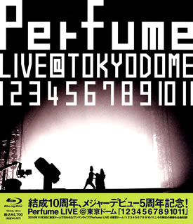 "!Perfume LIVE@ Tokyo Dome ""1 2 3 4 5 6 7 8 9 10 11"" of the 5th anniversary of the Perfume / organization tenth anniversary, the major debut (Blu-ray)"