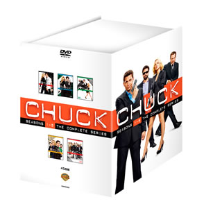 【送料無料】CHUCK チャック DVDコンプリート・シリーズ[DVD][45枚組]