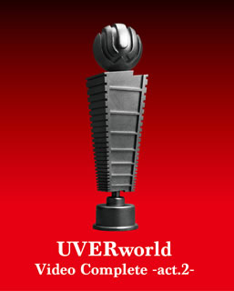 【送料無料】 UVERworld / UVERworld Video Complete-act.2-(ブルーレイ)