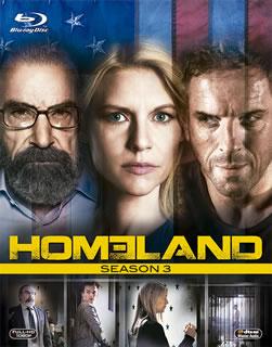 【送料無料】HOMELAND / ホームランド シーズン3 ブルーレイBOX(ブルーレイ)[3枚組]