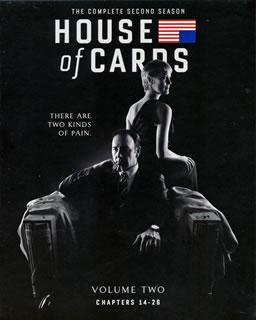 【送料無料】ハウス・オブ・カード 野望の階段 SEASON 2 Complete Package(ブルーレイ)[4枚組]