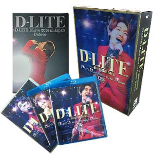 【国内盤ブルーレイ】 【送料無料】D-LITE(from BIGBANG) / D-LITE DLive2014 in Japan~D'slove~DELUXE EDITION〈初回生産限定・2枚組〉[2枚組][初回出荷限定]