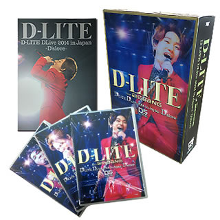 【送料無料】 D-LITE(from BIGBANG) / D-LITE DLive2014 in Japan~D'slove~DELUXE EDITION [DVD][3枚組][初回出荷限定]