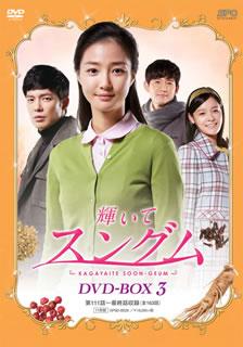 【送料無料】 輝いてスングム DVD-BOX3[DVD][11枚組]