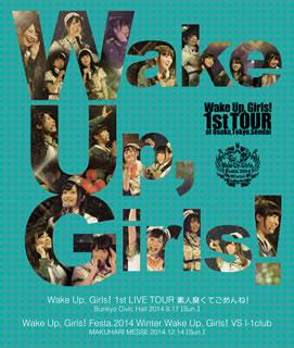 【送料無料】Wake Up,Girls!1st LIVE TOUR 素人臭くてごめんね! / Wake Up,Girls!vs I-1club(ブルーレイ)[2枚組]