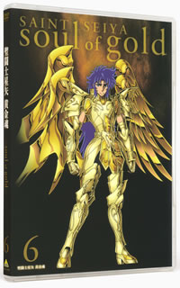 Saint fighter star arrow gold soul -soul of gold- 6 [DVD] [first shipment-limited]