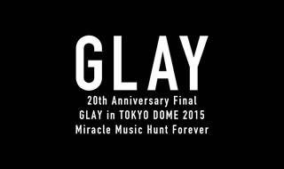 【送料無料】GLAY / 20th Anniversary Final GLAY in TOKYO DOME 2015 Miracle Music Hunt Forever PREMIUM BOX〈20,000セット限定・3枚組〉(ブルーレイ)[3枚組][初回出荷限定20,000セット限定]