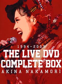 【送料無料】 中森明菜 / 中森明菜 THE LIVE DVD COMPLETE BOX〈7枚組〉[DVD][7枚組] 【DM2016/5/4発売】