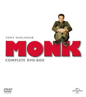【送料無料】名探偵モンク コンプリート DVD-BOX[DVD][32枚組]【D2016/7/22発売】