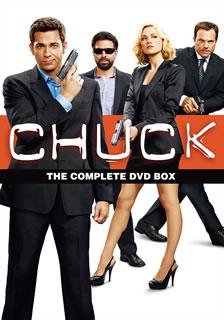 【送料無料】CHUCK / チャック シーズン1-5 DVD全巻セット[DVD][45枚組]【D2016/11/23発売】