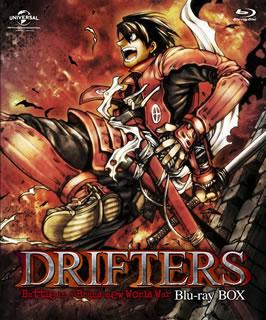 【送料無料】DRIFTERS Blu-ray BOX(ブルーレイ)[4枚組][初回出荷限定]【B2016/12/24発売】