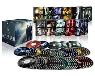 【国内盤DVD】【送料無料】X-ファイル コンプリートDVD-BOX[58枚組]【D2016/12/2発売】