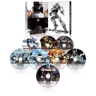 【送料無料】THE NEXT GENERATION パトレイバー / シリーズ全7章 DVD-BOX スペシャル・プライス[DVD][8枚組]【D2016/12/2発売】