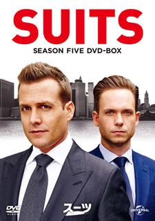 【送料無料】SUITS / スーツ シーズン5 DVD-BOX[DVD][4枚組]【D2017/2/8発売】