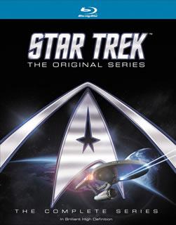 【送料無料】スター・トレック:宇宙大作戦 Blu-rayコンプリートBOX(ロッデンベリー・アーカイブス付)(ブルーレイ)[21枚組]【B2017/3/8発売】