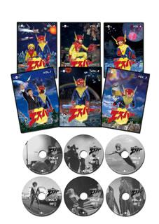 【送料無料】光速エスパー 全巻セット[DVD][6枚組]【D2017/7/21発売】
