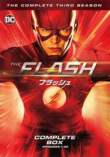 【送料無料】THE FLASH / フラッシュ サード・シーズン コンプリート・ボックス[DVD][12枚組]【D2017/9/20発売】