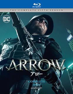 【送料無料】ARROW / アロー フィフス・シーズン コンプリート・ボックス(ブルーレイ)[4枚組]【B2017/10/4発売】