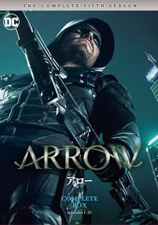 【送料無料】ARROW / アロー フィフス・シーズン コンプリート・ボックス[DVD][5枚組]【D2017/10/4発売】