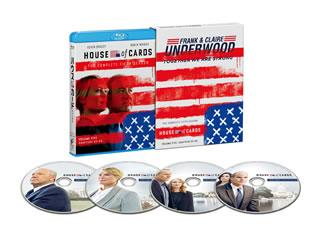 【送料無料】ハウス・オブ・カード 野望の階段 SEASON 5 Complete Package(ブルーレイ)[4枚組]【B2017/10/4発売】