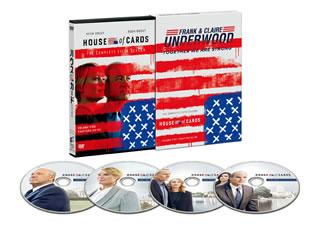 【国内盤DVD】ハウス・オブ・カード 野望の階段 SEASON 5 Complete Package[4枚組]【D2017/10/4発売】