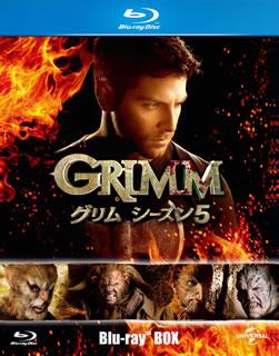 【送料無料】GRIMM グリム シーズン5 Blu-ray BOX(ブルーレイ)[5枚組]【B2017/11/8発売】