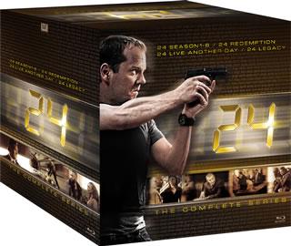 【送料無料】24-TWENTY FOUR- コンプリート ブルーレイBOX(ブルーレイ)[49枚組]【B2017/12/2発売】