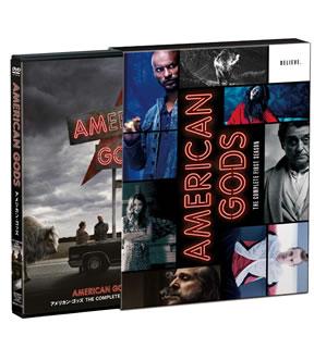 【送料無料】アメリカン・ゴッズ シーズン1 DVDコンプリートBOX[DVD][4枚組][初回出荷限定]【D2017/12/27発売】