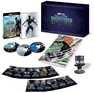 【送料無料】ブラックパンサー 4K UHD MovieNEX プレミアムBOX[DVD][3枚組][初回出荷限定]【UHD2018/7/4発売】