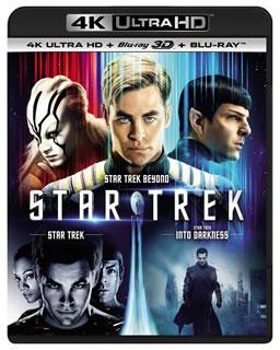 【送料無料】スター・トレック 3ムービー・コレクション 4K ULTRA HD+3D Blu-ray+Blu-rayセット[UHD][8枚組]【UHD2018/8/8発売】