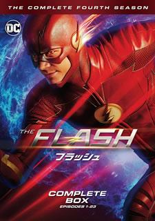 【送料無料】THE FLASH / フラッシュ フォース・シーズン コンプリート・ボックス[DVD][5枚組] 【D2018/10/3発売】