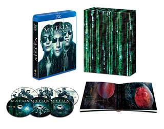 【送料無料】マトリックス トリロジー HDデジタル・リマスター&日本語吹替音声追加収録版(ブルーレイ)[6枚組][初回出荷限定]【B2018/11/7発売】