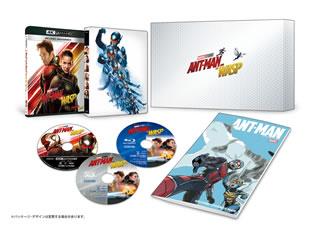 【送料無料】アントマン&ワスプ 4K UHD MovieNEX プレミアムBOX[CD][3枚組][初回出荷限定数量限定]【UHD2019/1/9発売】 【★】