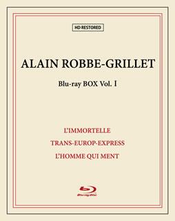 【国内盤ブルーレイ】【送料無料】アラン・ロブ=グリエ Blu-ray BOXI[3枚組][初回出荷限定]【B2019/8/31発売】
