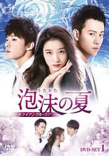 【国内盤DVD】泡沫の夏~トライアングル・ラブ~ DVD-SET1[6枚組]【D2019/9/3発売】