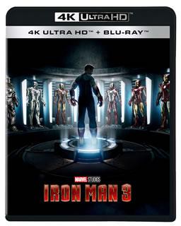【国内盤DVD】【送料無料】アイアンマン3 4K UHD[CD][2枚組]【D2019/9/4発売】