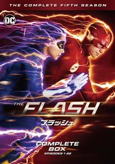 【国内盤DVD】【送料無料】THE FLASH / フラッシュ フィフス・シーズン コンプリート・ボックス[DVD][5枚組]【D2019/10/2発売】