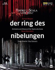 【送料無料】Wagner/Pape/Rugamer/Martin/Kranzle / Der Ring Des Nibelungen (Box Set) (4PC)(輸入盤ブルーレイ)