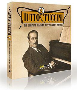 【送料無料】Puccini/Cura/Nizza/Gertseva/Vratogna / Tutto Puccini-Comp Giacomo Puccini Opera Edition(輸入盤ブルーレイ)